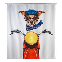 Douchegordijn Biker Dog, WENKO