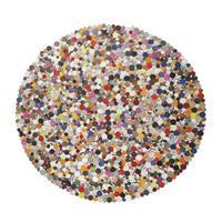 Vloerkleed Circle Multi, Kare Design
