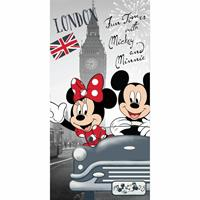 Disney Minnie Mouse London Strandlaken 70 x 140 cm