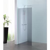 Sub 066 walk-in 100x200 cm, zilver-grijs clean