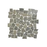 Terred'azur Black flat natuursteen mozaiek 30x30
