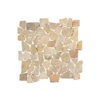 Terred'azur Brown flat natuursteen mozaiek 30x30