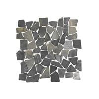 Terred'azur Silva grey natuursteen mozaiek 30x30