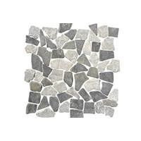 Terred'azur Mix Grey natuursteen mozaiek 30x30