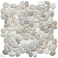 Terred'azur Tan timor kiezel mozaïek 30x30