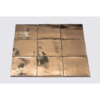 Dtg Oud Hollands mozaïek wandtegel 13x13 goud