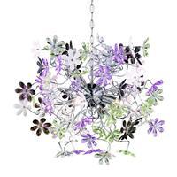 Trio Leuchten Moderne Hanglamp Flower Trio R10014017
