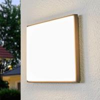 Lampenwelt.com Discrete LED plafondlamp Amra voor buiten