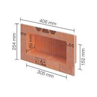 Schluter inbouwnis 305x152mm kb12n305152a