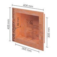 Schluter inbouwnis 305x305mm kb12n305305a