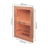 Schluter inbouwnis 305x508mm kb12n305508a1