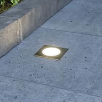 Lampenwelt.com Doris - LED grondspot inbouwlamp, hoekige vorm