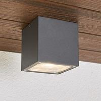 Lampenwelt.com Tanea - LED plafondlamp in kubusvorm, IP54