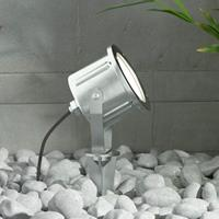 Lampenwelt.com Roestvrij staal LED prikspot Mathis