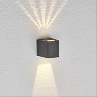 Lampenwelt.com LED-buitenwandlamp Karsten