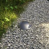 Lampenwelt.com Grondspot inbouwlamp Helene voor buiten met LED's