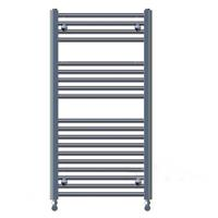 Aqua Royal Radiator Lydia 120X60 cm - 120x60 cm Wit 773 Watt Middenaansluiting