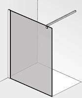 Saqu miralo Glaswand voor montageset 120x210 cm Helder Glas