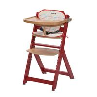 Safety 1st Meegroei kinderstoel  Timba Raspberry Red (incl. kussen)