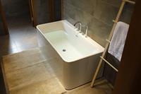 Badstuber Paris vrijstaand bad 170x80cm wit