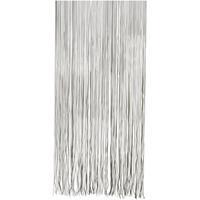 Vliegengordijn/deurgordijn PVC twist zwart 90 x 220 cm Zwart