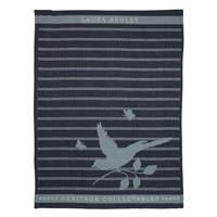 Laura Ashley Heritage Theedoek Midnight Vogel 50x70 cm