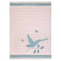 Laura Ashley Heritage Theedoek Blush Vogel 50x70 cm