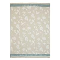 Laura Ashley Heritage Theedoek Cobblestone Bloem 50x70 cm
