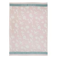 Laura Ashley Heritage Theedoek Blush Bloem 50x70 cm