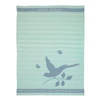 Laura Ashley Heritage Theedoek Mint Vogel 50x70 cm