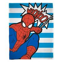 Marvel Spiderman fleece deken