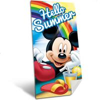Disney Mickey Mouse Hello summer - Strandlaken - 140 x 70 cm - Multi