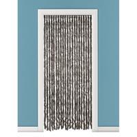 Vliegengordijn/deurgordijn kattenstaart bruin 93 x 230 cm Bruin