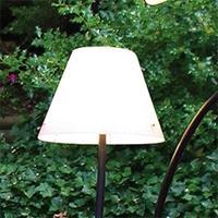 Top Light Witte kap voor buitenlamp OCTOPUS OUTDOOR
