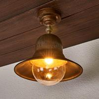 Moretti Messing buitenplafondlamp Marquesa