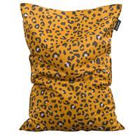 Leen Bakker zitzak Leopard - oker - 100x150 cm