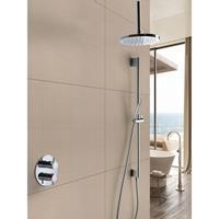 Hotbath IBS 2RA Get Together inbouw doucheset Laddy rond - chroom - met staafhanddouche - 25cm hoofddouche - met plafondbuis 15cm - met glijstang