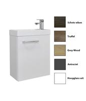 sanicare Q40 toiletmeubel 40 cm hoogglans wit