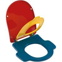Villeroy & Boch O.novo Kids kinderclosetzitting m. 1 grote en 1 kleine zitting m. deksel multicolor 8M12619C