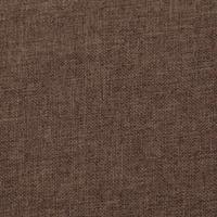 VidaXL Bankje met opbergvak 116 cm polyester bruin