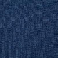 VidaXL Bankje met opbergvak 116 cm polyester blauw
