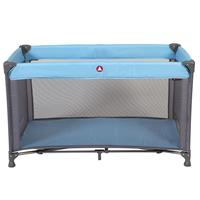 Topmark Campingbed  in tas Charlie Blauw