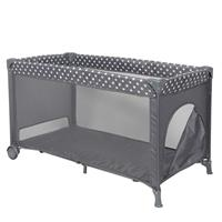 Topmark Campingbed - Reisbed  Jacky Grey (incl. bodemverhoger)