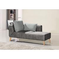 Home24 Chaise longue Pulow, loftscape