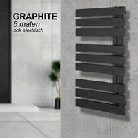 HD Heating Handdoekradiator IP Oslo Graphite In 6 Verschillende Maten (Ook in elektrische uitvoering)