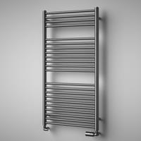 HD Heating Handdoekradiator HD London RVS Geborsteld In 4 Verschillende Maten (Ook in elektrische uitvoering)