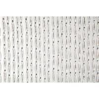 2LIF deurgordijn Madrid - zwart - 93x230 cm