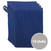 The One Towelling The One Voordeelpakket Washandjes Navy - 10 stuks