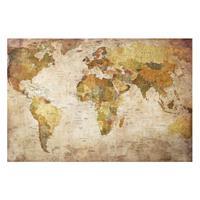 Home24 Afbeelding Wereldkaart II, Bilderwelten