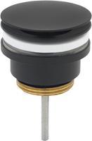 Ben afvoerplug 6,3 cm Gestructureerd Zwart